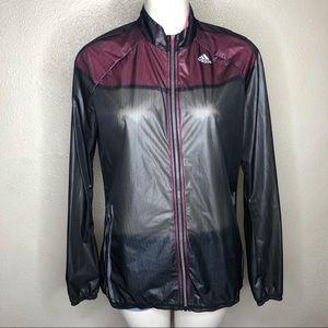 Adidas Adizero climaproof running jacket large